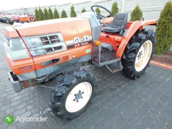 Kubota GL 25   25KM 4x4 wspomaganie rewers mini traktor iseki yanmar   - zdjęcie 1