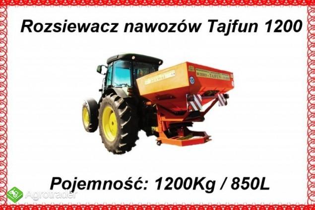 Rozsiewacz sadowniczy Tajfun 850 L / 1200 kg