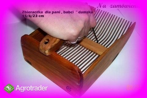 zbieraczka - maszynka -kombajn do jagód i borówek - zdjęcie 1