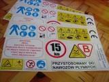 Unia - Naklejki etykiety opryskiwacz