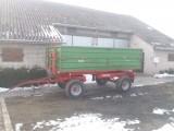 Przyczepa Warfama T-610, 6t, 2008 r