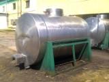 zbiornik z stali nierdzewnej 4000l mleko olej opał
