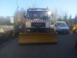 Pług do śniegu do ciężarówki i ciągnika