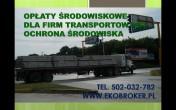 Raporty do KOBIZE dla urządzeń i środków transport