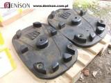Używane pady /gumy JCB