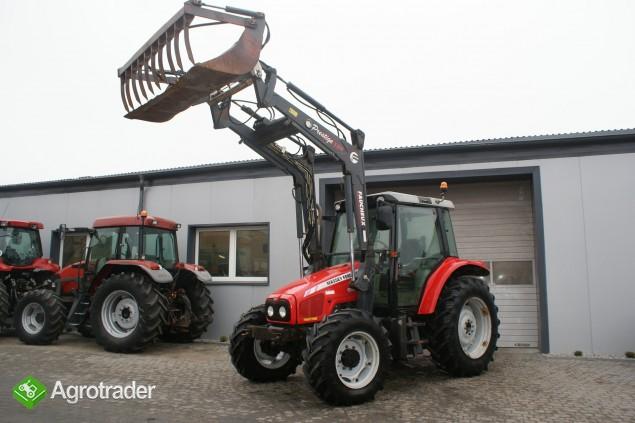 Ciągniki rolnicze MASSEY FERGUSON 5455+ŁADOWACZ FAUCHEUX Renault
