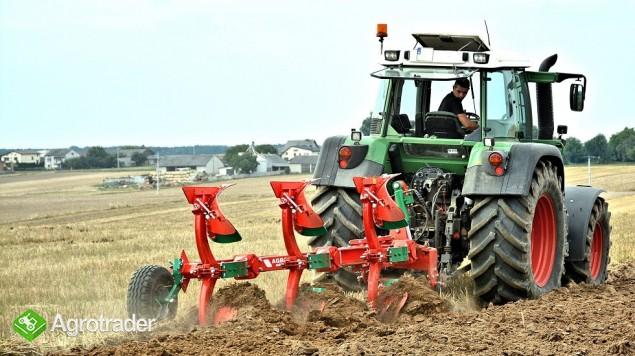 Pług obrotowy obracalny Pługi zabezpieczenie resorowe Agro-Masz - zdjęcie 1