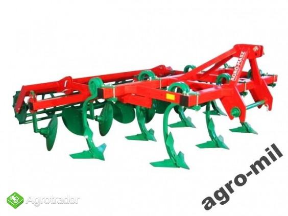 Agregat podorywkowy gruber kołkowy ząb sprężynowy AGRO-MASZ - zdjęcie 5