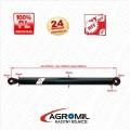 Cylinder hydrauliczny CN 40/630 L:870 skok 630 1-str działania