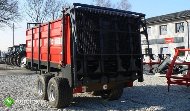 Rozrzutnik obornika Metal-Fach N267 - 8t - zdjęcie 6