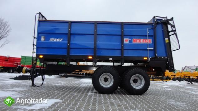 Rozrzutnik Obornika Metal-Fach N267/1 oraz N267 6 i 8 ton - zdjęcie 1