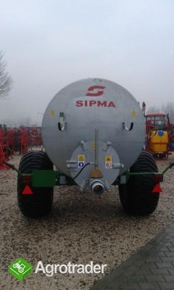 Wóz asenizacyjny beczkowóz 6600l SIPMA WA600 DELFIN - zdjęcie 4