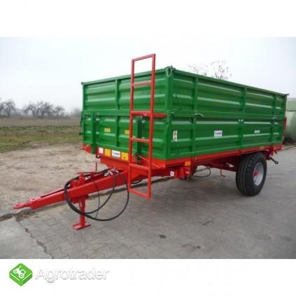 Przyczepa przyczepy rolnicza jednoosiowa GOMAR GPJ 103/1 - zdjęcie 5