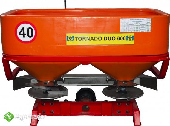 Rozsiewacz Nawozów Tornado 600L/850kg LIFT DEXWAL AGRO-ACTIV - zdjęcie 5