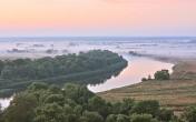 Ukraina.Obiekty rolnicze na dawnych polskich ziemiach,byla ferma krow