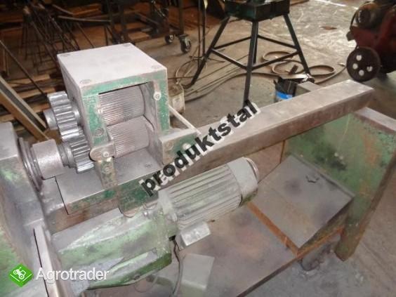 Dwa zestawy maszyn  do produkcji ogrodzeń kowalstwo artystyczne gietar - zdjęcie 5