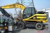 koparka kołowa JCB JS 160W z 2004 r., BW WANICKI