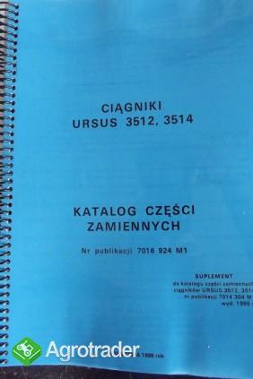 Katalog części zamiennych URSUS 3512/2514 SUPLEMENT
