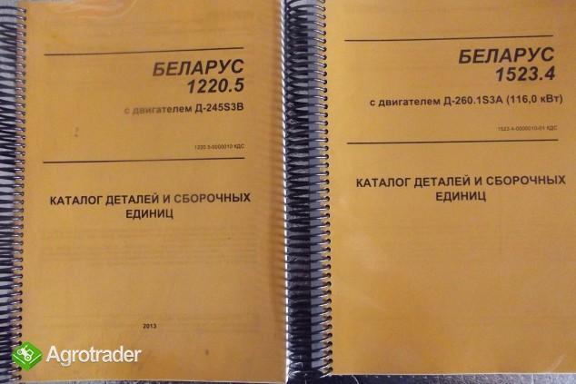 Katalogi części zamiennych do ciągników BELARUS
