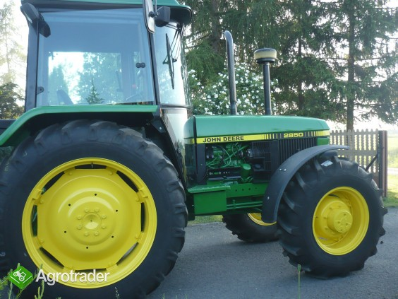 John Deere  2850  - Sprzedany- - zdjęcie 5