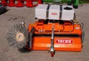 Zamiatarka komunalna 1,5m TALEX boczna szczotka zbiorniki