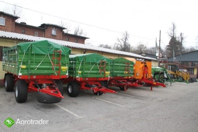 Przyczepa rolnicza Pronar T653/2 nowa promocja trójstronna wywrotka - zdjęcie 1