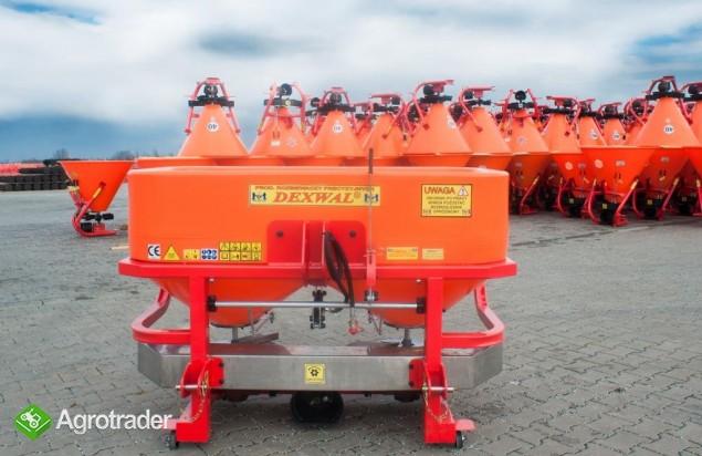 rozsiewacz nawozów TORNADO DUO 600l 850kg 2018 - zdjęcie 6