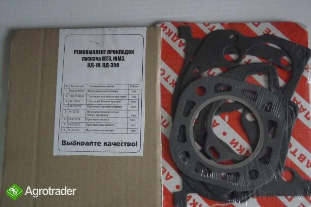 Komplet uszczelek silnika rozruchowego ORYGINAŁ   - zdjęcie 1