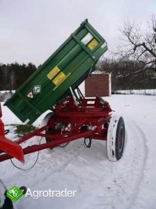 Przyczepa rolnicza ciężarowa 5 ton HL 6011 jak nowa OKAZJA wywrotka  - zdjęcie 4