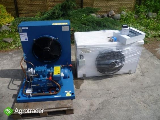 Przechowalnia agregat chłodniczy Bitzer spreżarka chłodnicza parownik  - zdjęcie 3