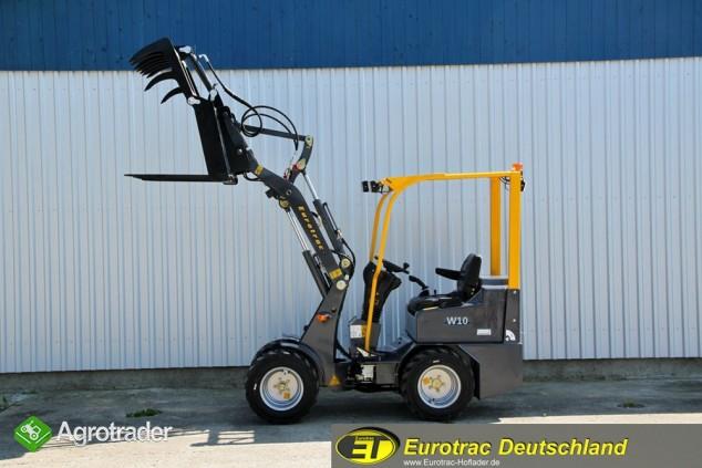Nowa Ładowarka Przegubowa EUROTRAC W10 Hoflader Miniładowarka - zdjęcie 7