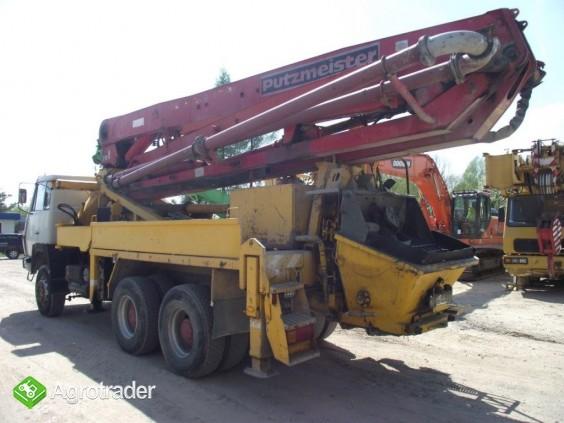 Pompa do betonu 32 m usługi wynajem dzierżawa