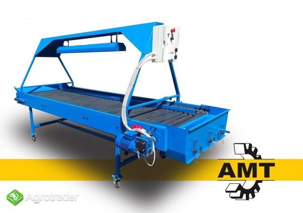 AMT Stół selekcyjny rolkowy, stół przebierczy  - zdjęcie 4