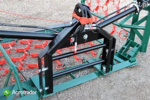 Włóki łąkowo-polowe włóka łakowo polowa brona  polska Metel-Technik - zdjęcie 1