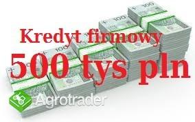 Kredyt firmowy do 500 tys pln