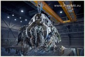 Chwytak do suwnicy do śmieci i paliwa alternatywnego - do spalarni