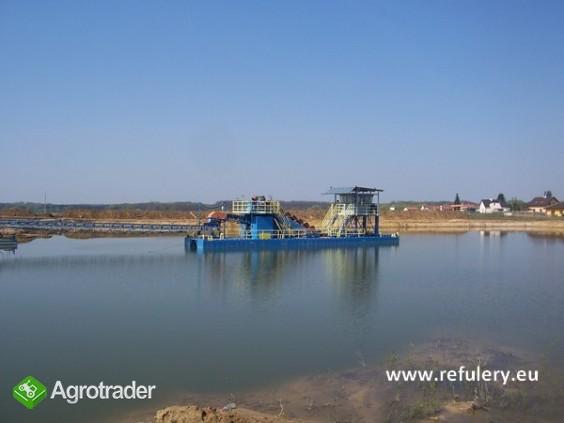 Pogłębiarka wielonaczyniowa, pogłębiarka wieloczerpakowa, refuler - zdjęcie 7