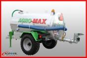 Beczkowóz wóz asenizacyjny jednoosiowy agro-max