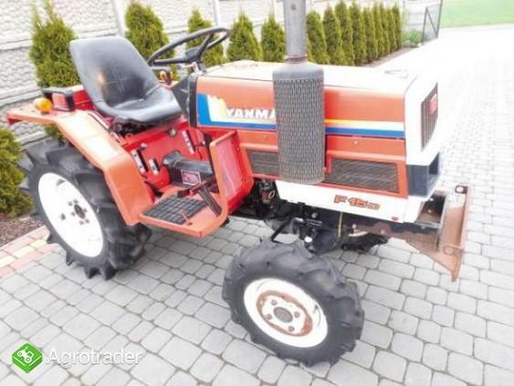 Yanmar F15 15KM 4x4 mini traktorek ogrodniczy kubota iseki