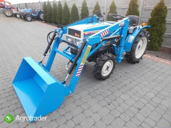 Mitsubishi MT 1800  18KM 4x4 mini traktor Kubota Yanmar Hinomoto Iseki - zdjęcie 3