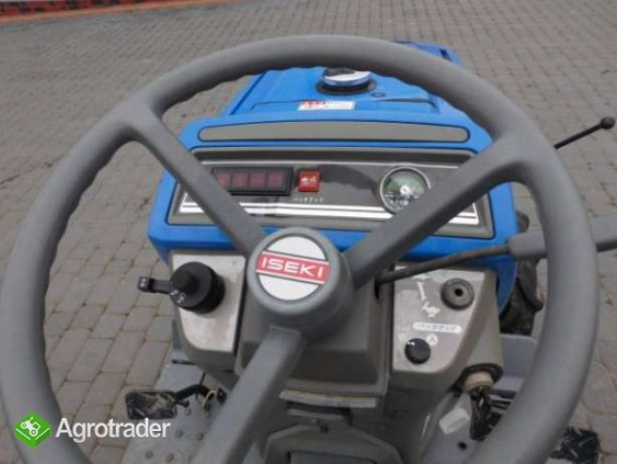 Iseki TM15 15KM 4x4 mini traktor traktorek ładowarka Kubota Yanmar  - zdjęcie 3