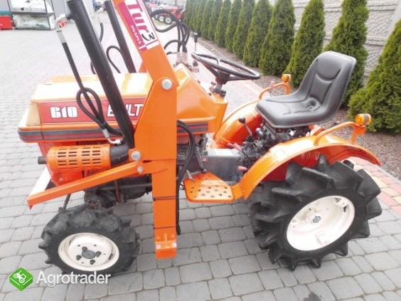 Kubota Bultra B 10 + TUR 4x4 mini traktor traktorek ogrodniczy iseki  - zdjęcie 2