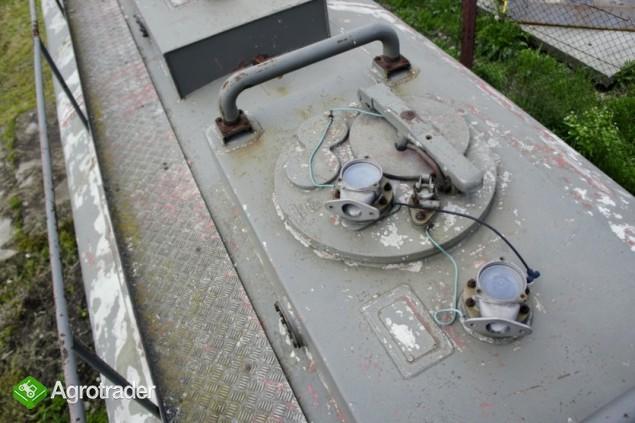 Cysterna paliwowa aluminiowa, naczepa,  4 x 6000 l - zdjęcie 3