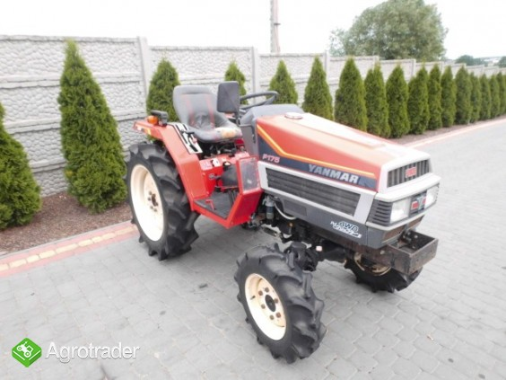 Yanmar F175 super stan mini traktor kubota iseki - zdjęcie 1