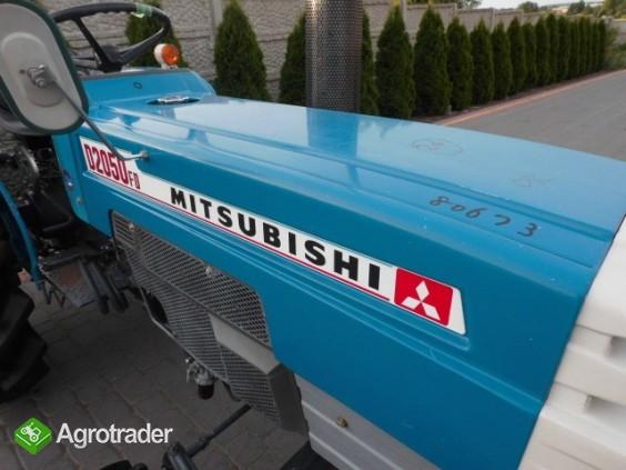 Mitsubishi D2050 Super stan mini traktor iseki kubota yanmar - zdjęcie 1