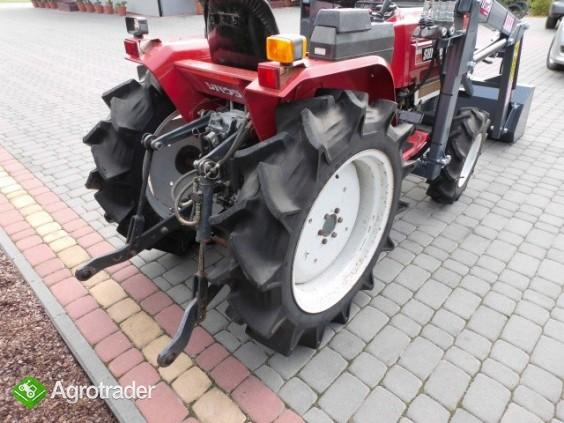 Shibaura P17 4x4 17 PS ładowacz czołowy TUR mini traktor - zdjęcie 6