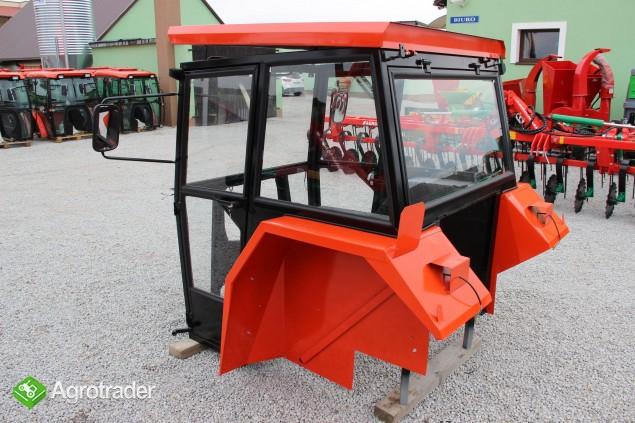 Kabina ciągnikowa do ciągnika MF 235 255 LUX z błotnikami CE - zdjęcie 2