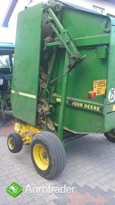 Prasa John Deere 550 - zdjęcie 3