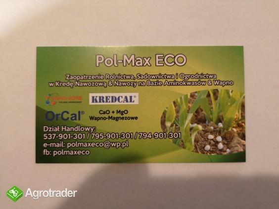 Kreda Nawozowa KREDCAL 06a (Kornica) granulat 100% eco - zdjęcie 2