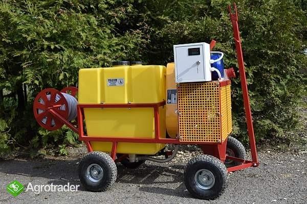 OPRYSKIWACZ ELEKTRYCZNY WÓZKOWY 80L, SILNIK 3 kW, 14-22l/min - zdjęcie 5
